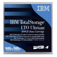 IBM LTO Ultrium-4 Tape, LTO, 800GB/1600GB - 95P4436